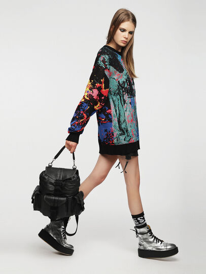 Diesel - MISS-MATCH BACKPACK,  - Backpacks - Image 7