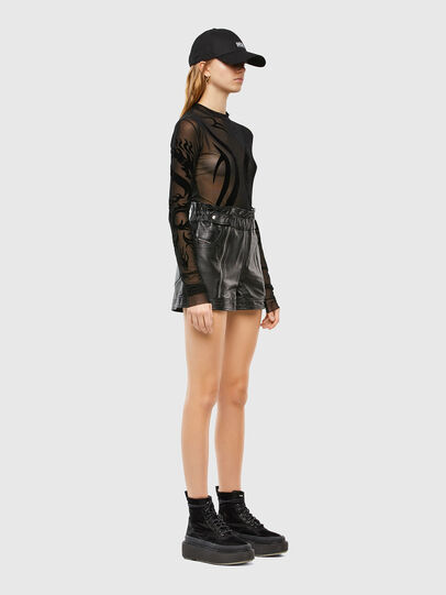 Diesel - T-NOELAY-V100, Black - Tops - Image 5