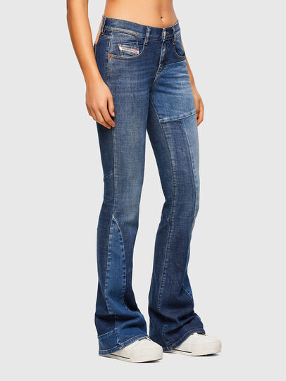 Diesel - D-Ebbey 009NP, Medium blue - Jeans - Image 4