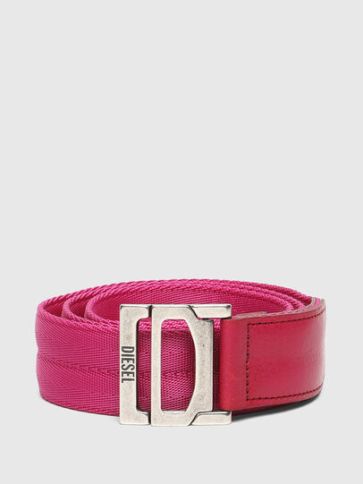 Diesel - B-WEBI, Pink - Belts - Image 1