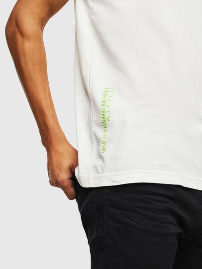 Diesel - T-DIEGO-J5, White - T-Shirts - Image 7