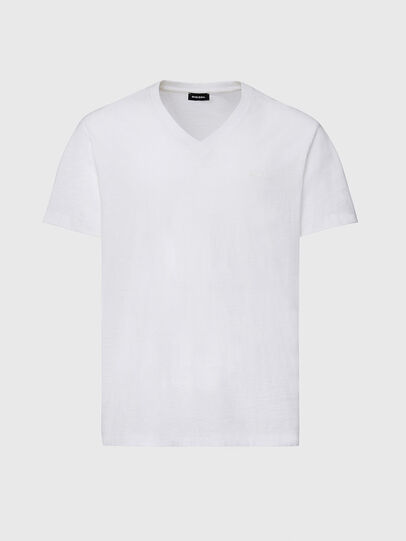 Diesel - T-RANIS-NEW2, White - T-Shirts - Image 1