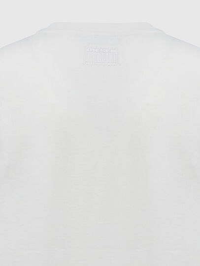 Diesel - T-SILY-E55, White - T-Shirts - Image 4