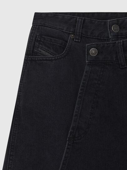 Diesel - DE-TOBY, Black - Skirts - Image 3