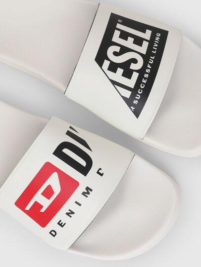 Diesel - SA-MAYEMI P, White - Slippers - Image 5