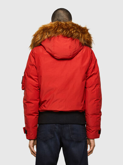 Diesel - W-JAME, Red - Winter Jackets - Image 2