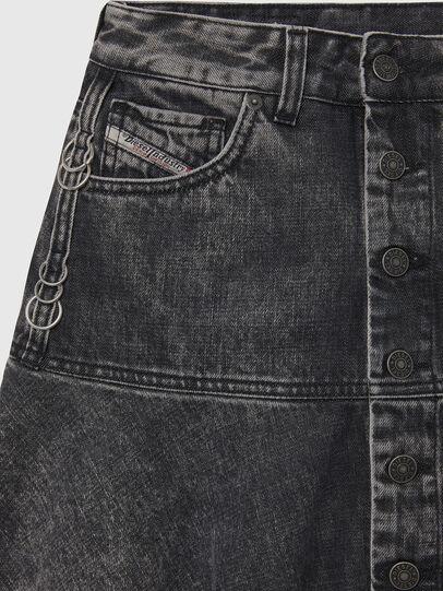 Diesel - DE-BETHY, Black - Skirts - Image 3