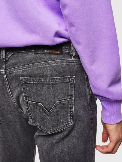 Diesel - Larkee 0095I, Black/Dark grey - Jeans - Image 4