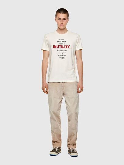 Diesel - T-DIEGOS-B6, White - T-Shirts - Image 4
