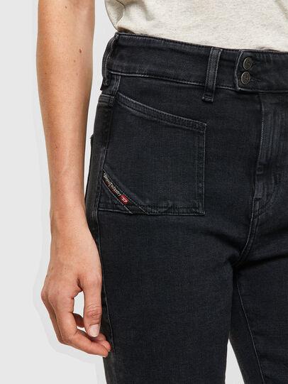 Diesel - D-Earlie 09A66, Black/Dark grey - Jeans - Image 4