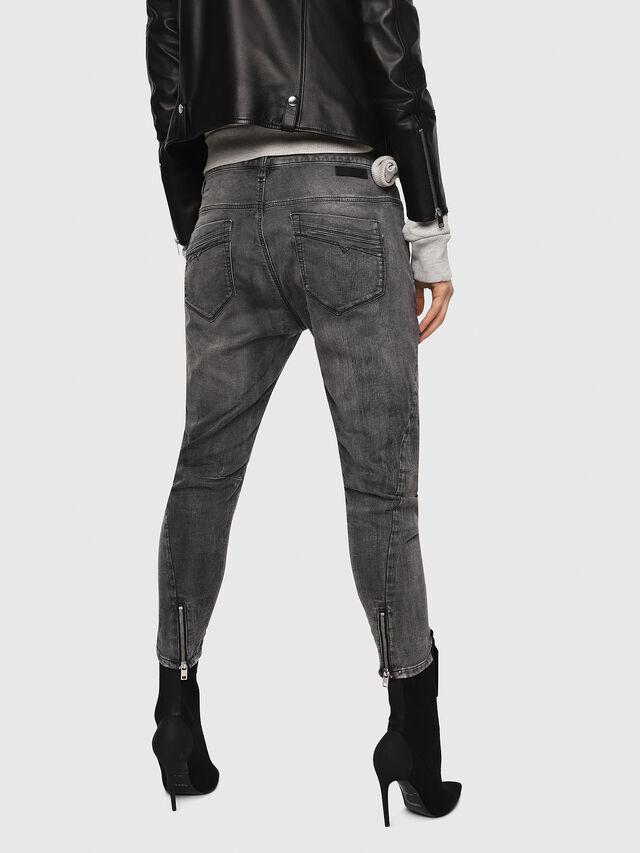 Diesel - Fayza JoggJeans 8880U, Black/Dark grey - Jeans - Image 2