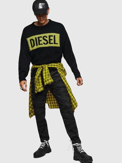 Diesel - K-LOGOX-C, Black - Knitwear - Image 5