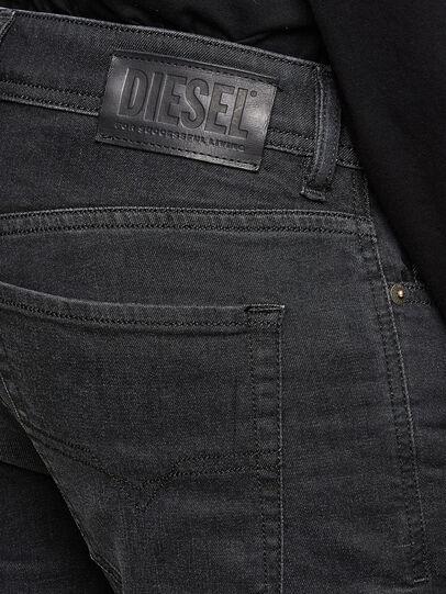 Diesel - Sleenker 009LY, Black/Dark grey - Jeans - Image 4