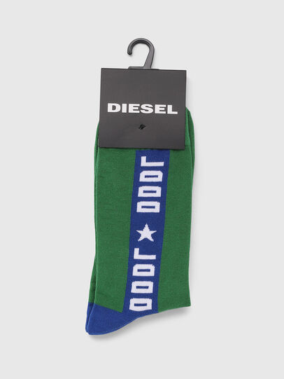 Diesel - SKM-RAY, Green - Socks - Image 2