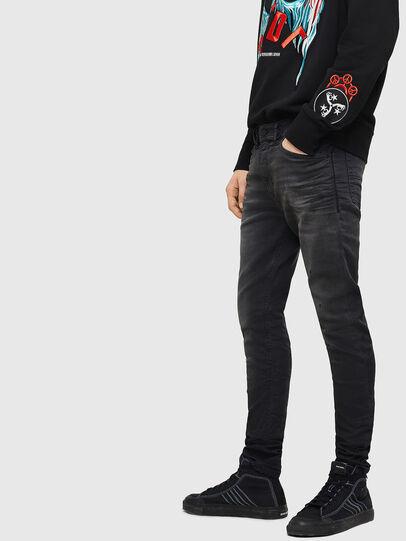 Diesel - Spender JoggJeans 069GN, Black/Dark grey - Jeans - Image 6
