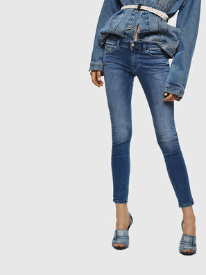 Slandy Low 084NM, Medium blue - Jeans