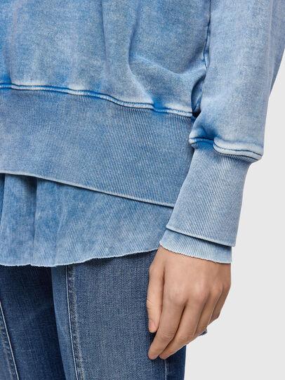 Diesel - F-ROXXY-B1, Blue - Sweaters - Image 4