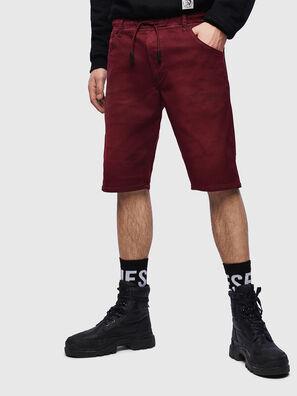 D-KROOSHORT JOGGJEANS, Bordeaux - Shorts