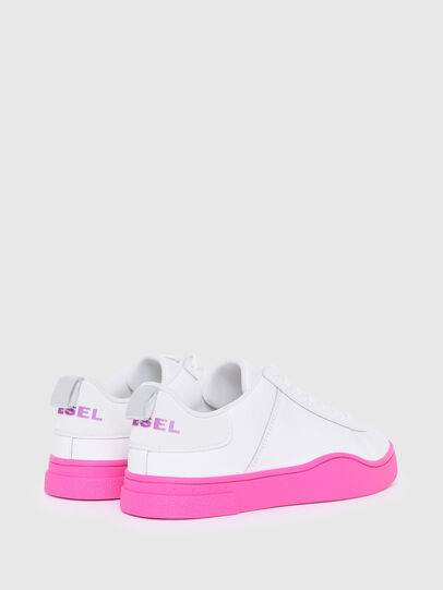 Diesel - S-CLEVER LOW LACE W, White/Pink - Sneakers - Image 3