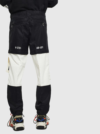 Diesel - P-MELTY, Black/White - Pants - Image 2