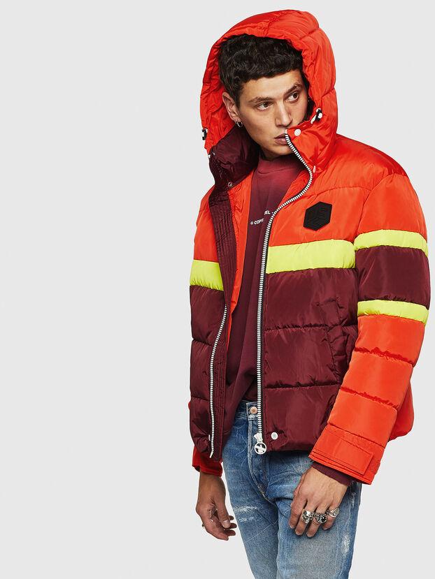 W-MARTOS, Orange - Winter Jackets