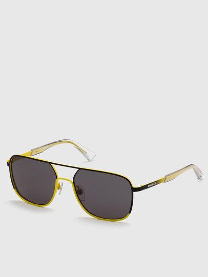 Diesel - DL0325, Black/Yellow - Sunglasses - Image 2