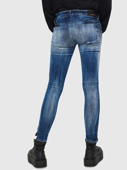 Diesel - Slandy Low 0095C, Medium blue - Jeans - Image 3