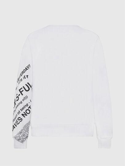 Diesel - S-GIRK-FOLDED, White - Sweaters - Image 2