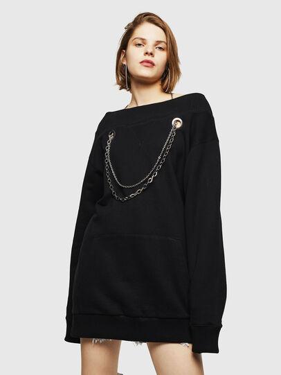 Diesel - D-MOEANU, Black - Dresses - Image 1