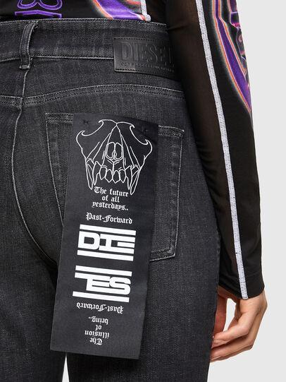 Diesel - D-Earlie 009JZ, Black/Dark grey - Jeans - Image 4