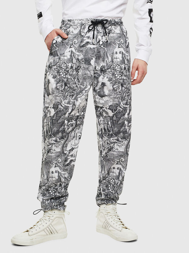 P-TOLL-KAOS, Black/White - Pants