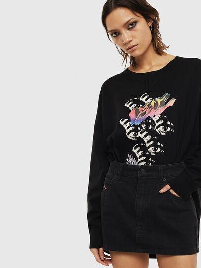 Diesel - M-OCIAME, Black - Knitwear - Image 4