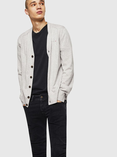 Diesel - K-MILOK, Light Grey - Knitwear - Image 4