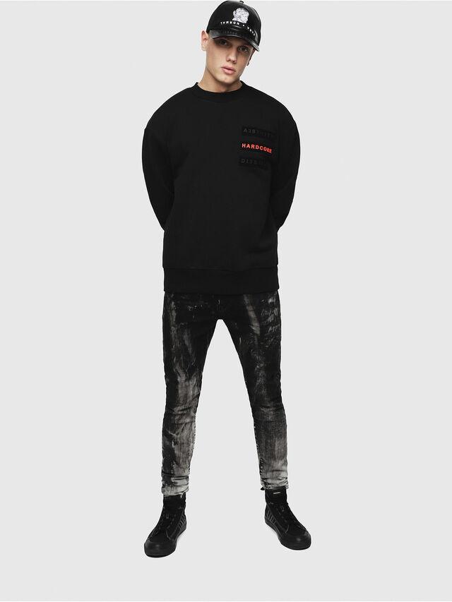 Diesel - S-BAY-YE, Black - Sweaters - Image 4