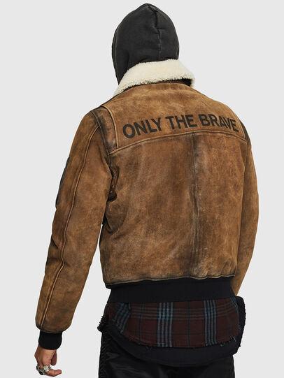 Diesel - L-OIUKIRO,  - Leather jackets - Image 2