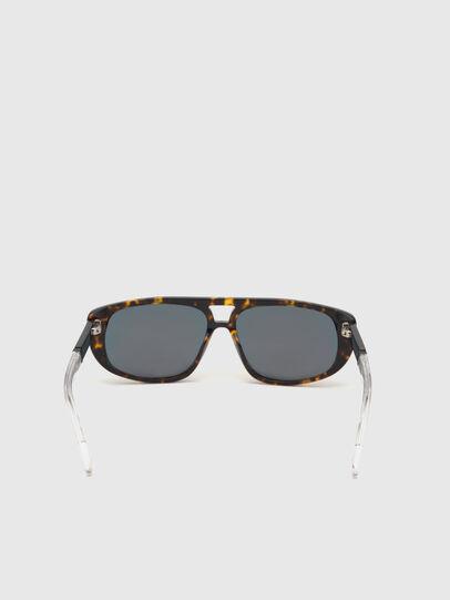 Diesel - DL0306, Brown/White - Kid Eyewear - Image 4