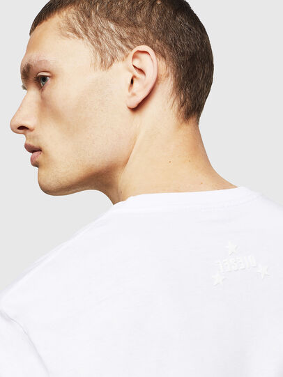Diesel - T-JUST-A12, White - T-Shirts - Image 3