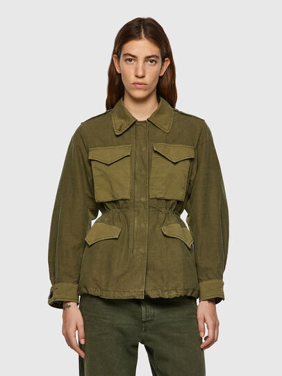 Diesel - G-CLAUDIA, Military Green - Jackets - Image 1
