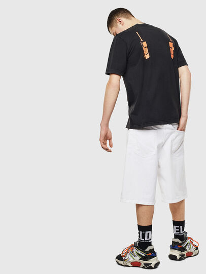 Diesel - T-JUST-T12, Black - T-Shirts - Image 6