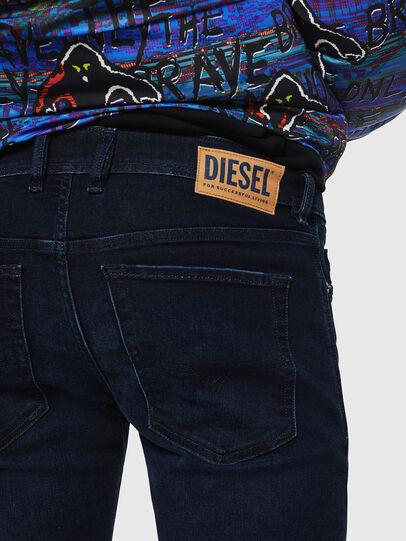 Diesel - Sleenker 083AG, Dark Blue - Jeans - Image 5