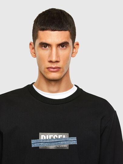 Diesel - S-GIRK-N83, Black - Sweaters - Image 3