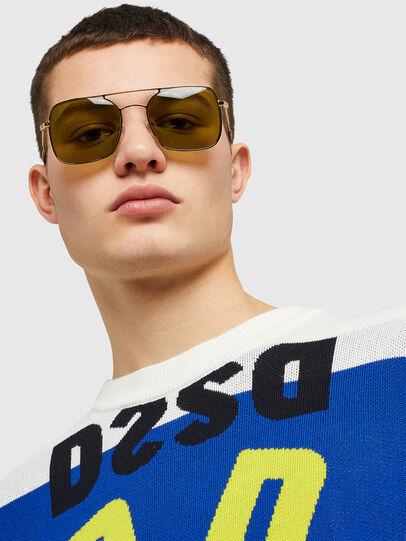 Diesel - DL0302, Gold - Sunglasses - Image 6