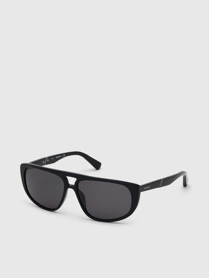 Diesel - DL0300, Black - Sunglasses - Image 2