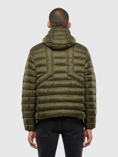 Diesel - W-DWAIN, Military Green - Winter Jackets - Image 2