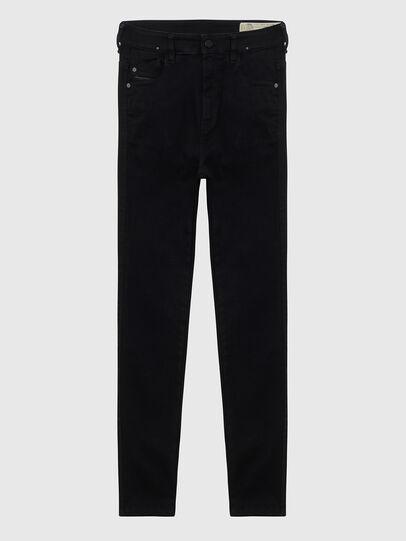 Diesel - Slandy High A69EF, Black/Dark grey - Jeans - Image 1