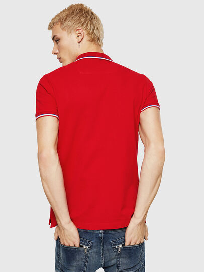 Diesel - T-RANDY-NEW, Fire Red - Polos - Image 2