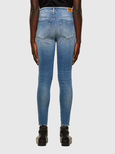 Diesel - Slandy High 009JI, Light Blue - Jeans - Image 2