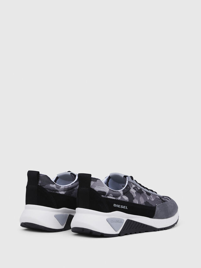 Diesel - S-KB LOW LACE, Gray/Black - Sneakers - Image 3