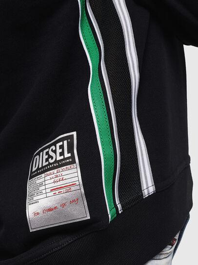 Diesel - F-LYANYDY, Black - Sweaters - Image 6