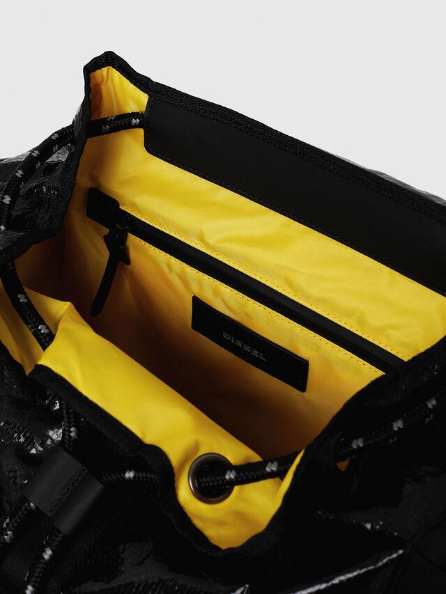 Diesel - M-CAGE BACK, Black - Backpacks - Image 4